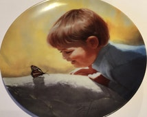 Vintage Collectors Plate, Pemberton and Oakes, Sunny Surprise, Donald Zolan , Limited Edition