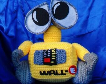 Amigurumi Wall-e