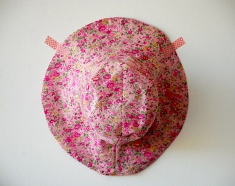 Chapeau liberty daughter Tatum pink