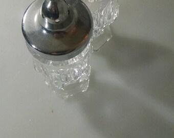 Glass Salt and Pepper Shaker