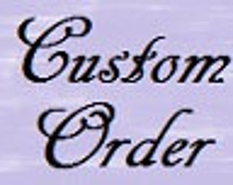 Custom Order Embroidery Design