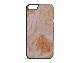Split Pink Marble Print Phone Case, Marble Case, Marble Print, Rubber Bumper Case, iPhone Case, iPhone Cover, iPhone Bumper \ bc-pp016