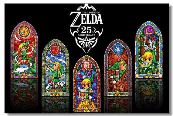 Zelda poster wall decoration creative poster custom size very for Decoration zelda