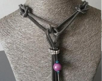 colored metal pearls