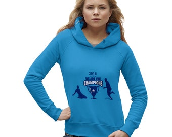 Women's LCFC 2016 We Are The Champions Hoodie