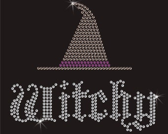 Witchy Rhinestone Applique