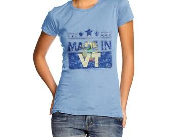 Women's Made In VT Vermont T-Shirt