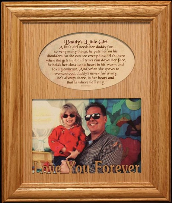 8x10 Daddy S Girl Boy Laser Amp Poetry Picture Frame Daddy