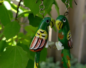 Parrot Earings
