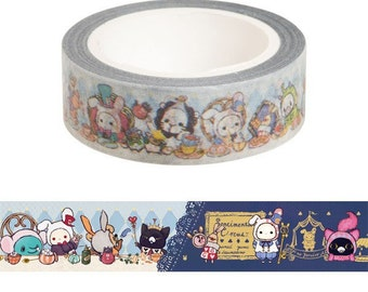 Sentimental Circus Washi Tape - Masking Tape  By San-X - Shappo - 10M
