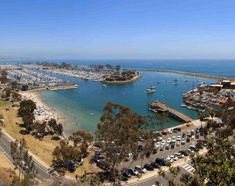 Dana Point Harbor, Orange County, CA Panoramic photo