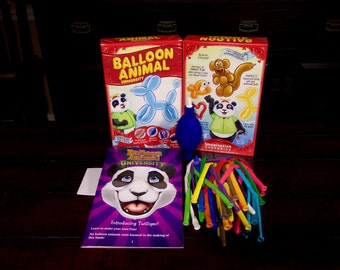 Balloon Animal University now with Qualatex Balloons and Online Training Video Series Access. Learn to Make Balloon Animals Starter Kit!