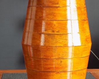 Vase design en resine inspiration ethnique