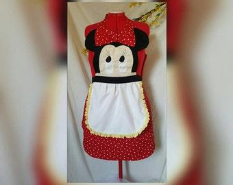 Minnie mouse apron