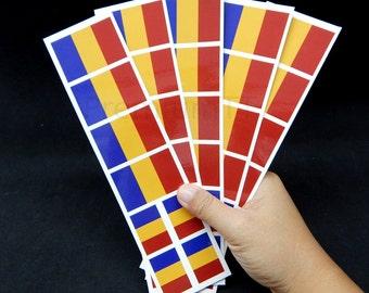 40 Tattoos: Romania Flag, Romanian Party Favors