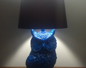 Limited edition owl lamp