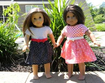 American Girl Doll Tea Party Dress