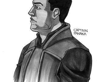 Captain Panaka Daily Drawing