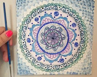 Mandala Blues (Prints)