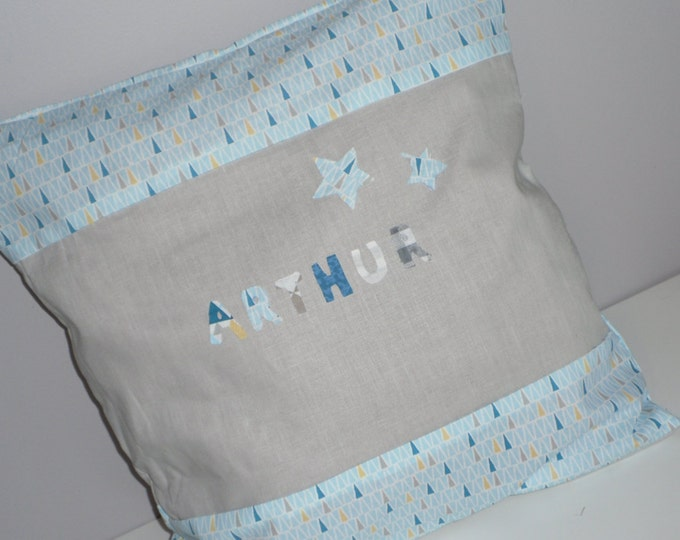 Custom cushion first name 40 x 40