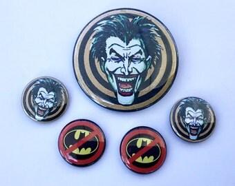 The Joker Goon Badge Button Set