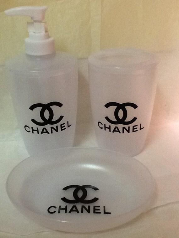 Chanel Bathroom Set By SassyByTerri On Etsy