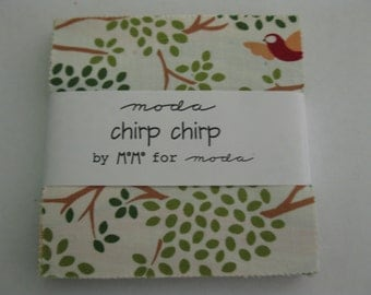Charm pack Chirp Chirp by MoMo for Moda