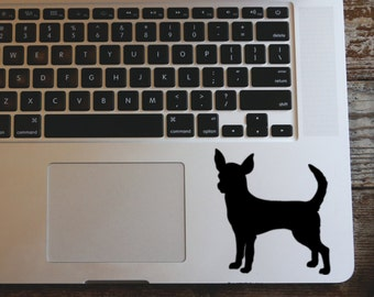 Chihuahua vinyl decal sticker
