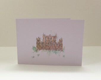 Wollaton Hall Greetings Card