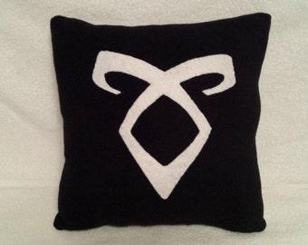 Shadowhunters Angelic Rune Pillow