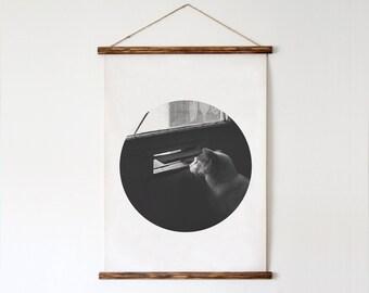 Minimalist Photo, Cat Photo, Cat Poster, Cat Printable Art, Digital Art, Black and White Poster, Animal Poster, Animal Photo