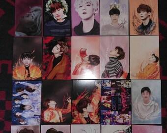 Kpop Postcards Bap Exo Got7