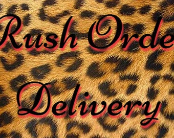 Rush Order Delivery