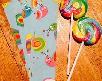 Rainbow Snail Fabric Washi Tape