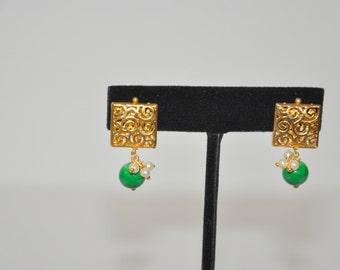 Antique finish Earrings