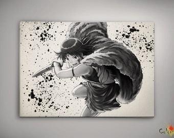 Princess Mononoke Anime Poster