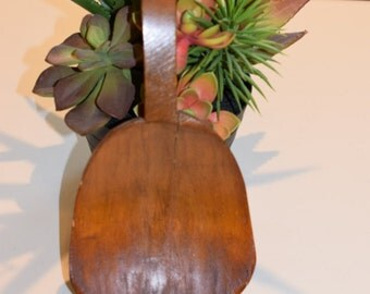 Farmhouse Woodenware Butter Paddle Worker, Antique, Beautiful Patina - Free Shipping