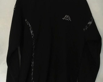 Kappa Black Jumper