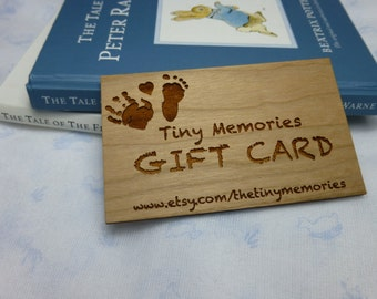 The Tiny Memories Collection gift card