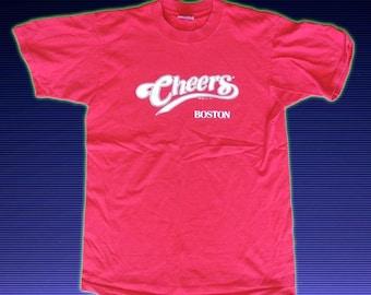 Vintage Cheers Boston Shirt