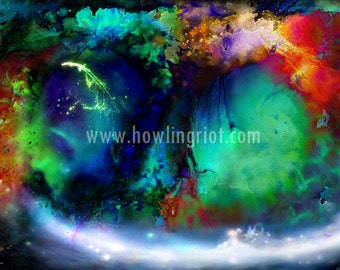 Fantasy Dream Landscape abstract Canvas