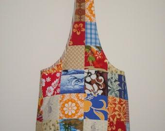 Hula girl Farmers market bag
