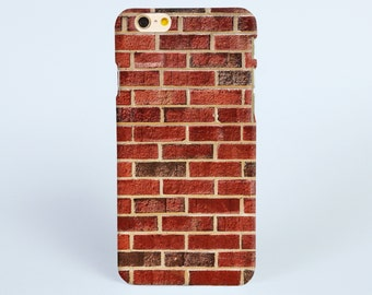 iPhone 7 Case Red Brick Wall iPhone 7 plus Case, iPhone 6 Plus Case, iPhone 6 Case, iPhone 6s Case, iPhone 5s Case, iPhone Cases for him