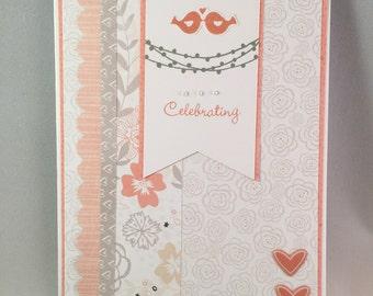 Handmade Anniversary Card, Anniversary Card, Close to My Heart Anniversary Card, Greeting Card, Anniversary