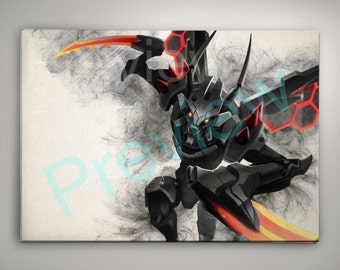 League of Legends Kha Zix Print Buy ANY 2 get 3rd FREE League of Legends Wall Decor
