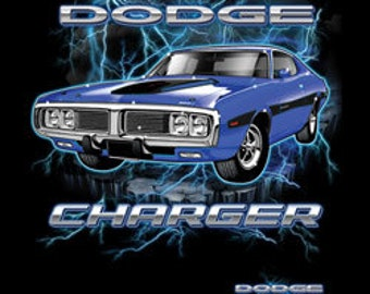 Dodge Charger Printed Tee Shirt