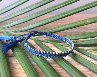 Bulu Bracelet - Navy Blue