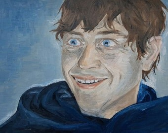 Oil painting of Ramsay Bolton from Game of Thrones by adinadraws