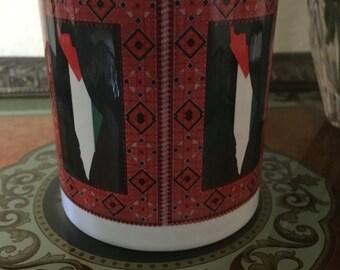 Palestinian Tatreez Mug