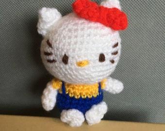 Crochet Hello Kitty doll - Kitty